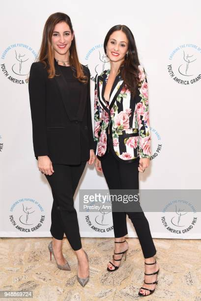Rachel Hamrick and Melanie Hamrick attend YAGP Stars of Today Meet The Stars of Tomorrow 2018 Gala on April 19 2018 in New York City
