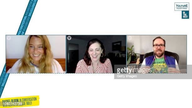 Rachel Handler and Zack Hillman speaks with Rachel Bloom in Conversation With Her Fifth-Grade Bully during Vulture Festival: In the Nest 2020 - Day 3...