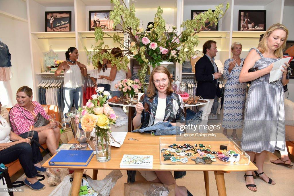 Rachel Hearn attends the Modern Luxury + Sam Edelman Summer Fashion Event on July 12, 2018 in Southampton, New York.