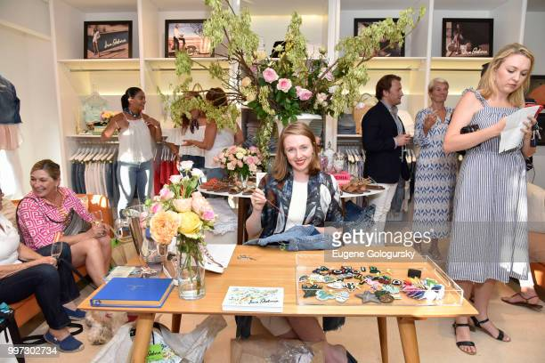 Rachel Hearn attends the Modern Luxury Sam Edelman Summer Fashion Event on July 12 2018 in Southampton New York