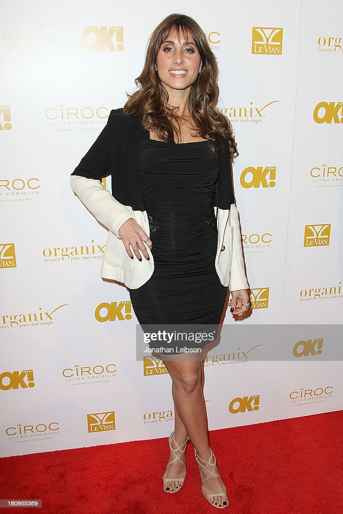 Rachel Heller attends the OK! Magazine Pre-GRAMMY Party at Sound on February 7, 2013 in Hollywood, California.