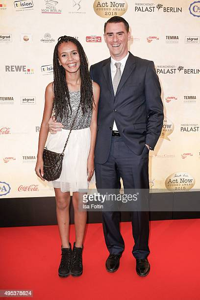 Rachel Hermlin and Andrej Hermlin attend the 1st Act Now Jugend Award at FriedrichstadtPalast on November 2 2015 in Berlin Germany