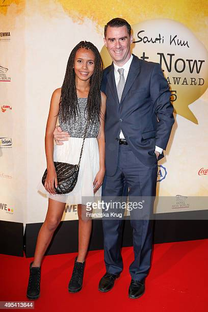 Rachel Hermlin and Andrej Hermlin attend the 1st Act Now Jugend Award on November 02 2015 in Berlin Germany