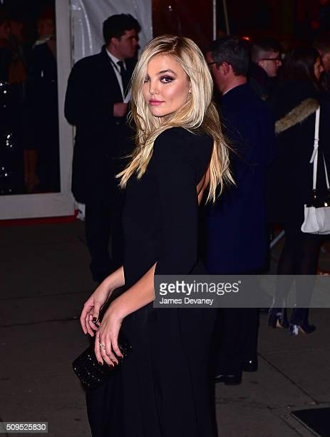 Rachel Hilbert arrives to 2016 amfAR New York Gala at Cipriani Wall Street on February 10 2016 in New York City