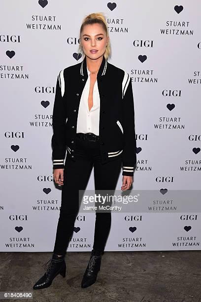 Rachel Hilbert attends Stuart Weitzman's Launch Of The Gigi Boot on October 26 2016 in New York City