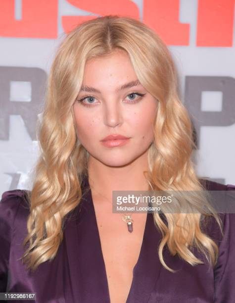 Rachel Hilbert attends the 2019 Sports Illustrated Sportsperson Of The Year at The Ziegfeld Ballroom on December 09 2019 in New York City