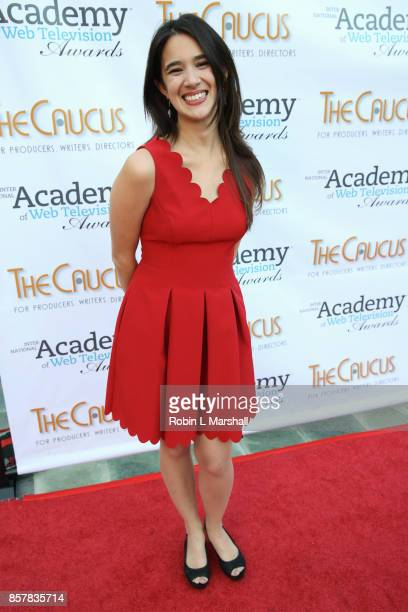 Rachel HipFlores attends the 5th Annual International Academy of Web Television Awards at Skirball Cultural Center on October 4 2017 in Los Angeles...
