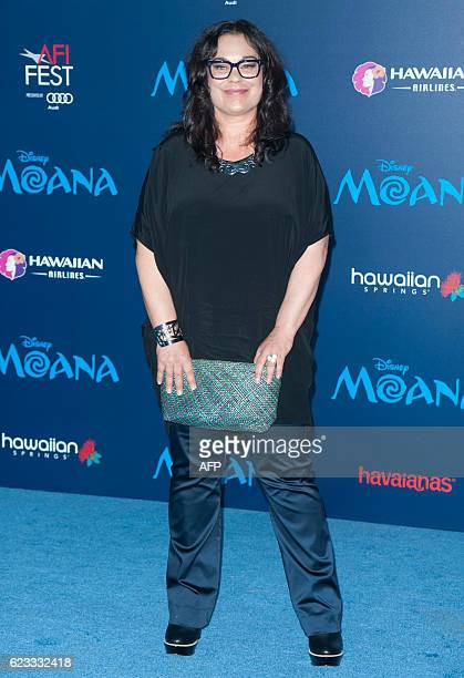 Rachel House attends the Disney Premiere 'Moana' in Hollywood California on November 14 2016 / AFP / LILLY LAWRENCE