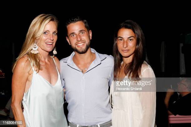 Rachel Hovnanian Giacomo Genovesi and Annalisa Bugliani attend the welcome dinner celebrating the opening of Rachel Lee Hovnanian's museum show Open...