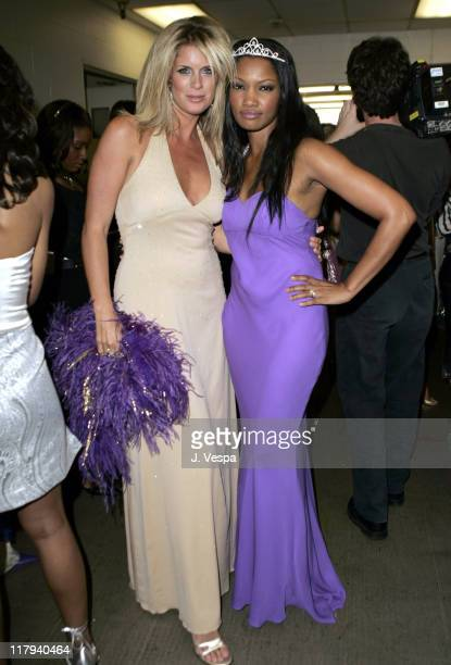 Rachel Hunter and Garcelle BeauvaisNilon during 12th Annual Race to Erase MS CoChaired by Tommy Hilfiger and Nancy Davis Backstage and Audience at...