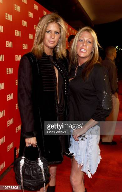 Rachel Hunter and Jacque Hunter during EMI 2004 GRAMMY Party at Los Angeles County Museum of Art in Los Angeles California United States