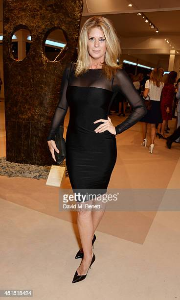 Rachel Hunter arrives at The Masterpiece Marie Curie Party supported by JaegerLeCoultre and hosted by Heather Kerzner at The Royal Hospital Chelsea...