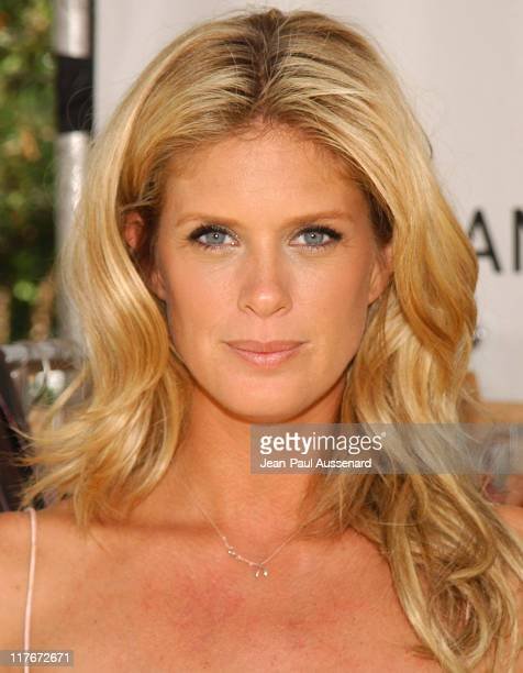 Rachel Hunter at Chan Luu during Silver Spoon Hollywood Buffet Day 2 in Los Angeles California United States Photo by JeanPaul Aussenard/WireImage...