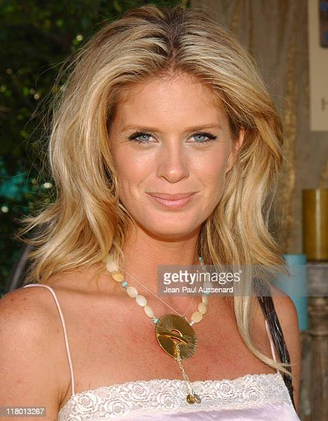 Rachel Hunter at Holly Lauren during Silver Spoon Hollywood Buffet Day 2 in Los Angeles California United States Photo by JeanPaul...