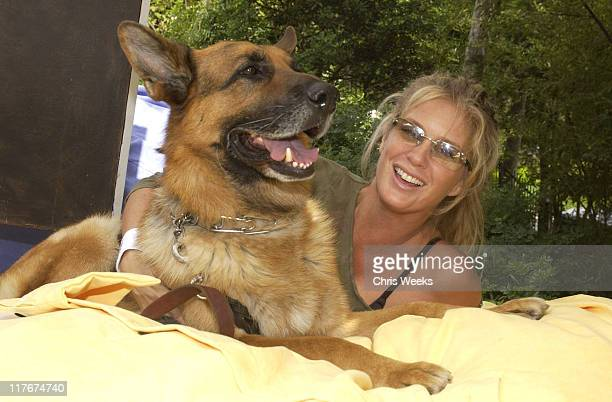"""Rachel Hunter at Love Sac during 'Silver Spoon Dog and Baby Buffet"""" Benefitting Much Love Animal Rescue Day One at Private Residence in Beverly Hills..."""