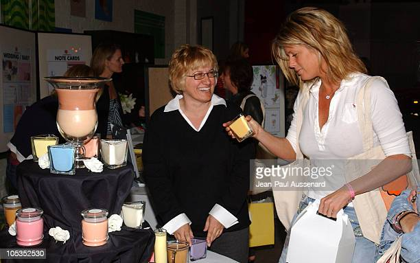 Rachel Hunter at Soylights during The Silver Spoon Golden Globe Hollywood Buffet Day 1 at Ivar Soho Project in Hollywood California United States