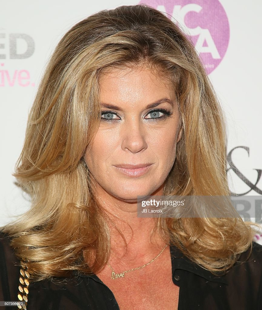 Rachel Hunter attends the 'Feminine Collective: Raw And Unfiltered' Vol. 1 launch party at Palihouse on January 28, 2016 in West Hollywood, California.