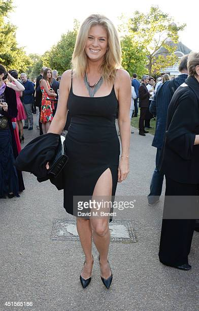 Rachel Hunter attends The Serpentine Gallery Summer Party cohosted by Brioni at The Serpentine Gallery on July 1 2014 in London England