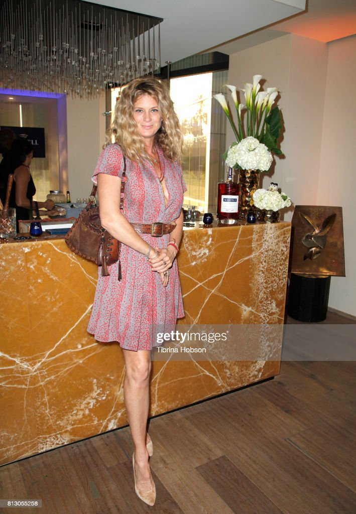 Martell Cognac Hosts Talent Resources Sports Party in Los Angeles, California at Playboy Headquarters : News Photo