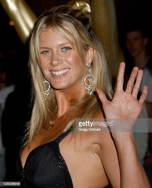 Rachel Hunter during 2005 World Music Awards Arrivals at Kodak Theatre in Los Angeles CA United States