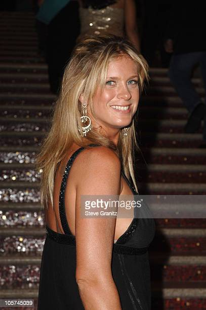 Rachel Hunter during 2005 World Music Awards Red Carpet at Kodak Theatre in Los Angeles CA United States