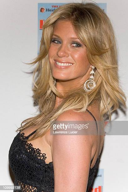 Rachel Hunter during 2006 Sports Illustrated Swimsuit Issue Press Conference at Crobar in New York City New York United States