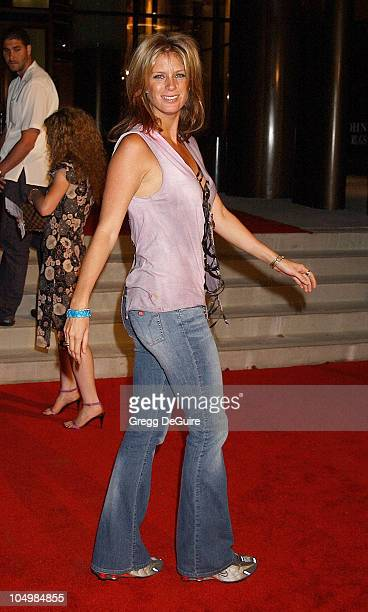 Rachel Hunter during Astra West Grand Opening Arrivals at Astra West in West Hollywood California United States