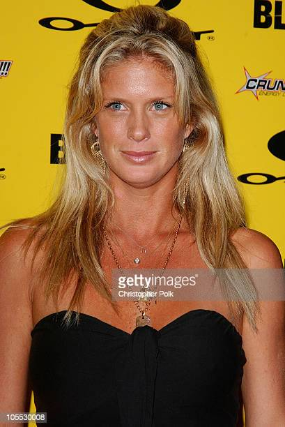 Rachel Hunter during Blender/Oakley X Games Party - Arrivals at The Key Club in Los Angeles, California, United States.