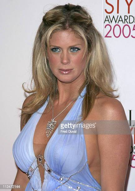 Rachel Hunter during Elle Style Awards 2005 Arrivals at Spitalfields in London Great Britain
