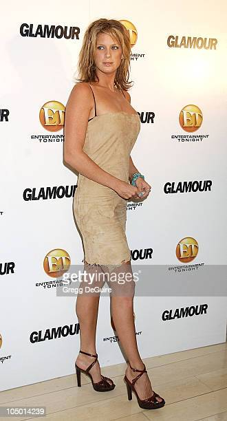 Rachel Hunter during ET/GLAMOUR Emmy Party Celebrating a Night of GLAMOUR on Sunset at Mondrian Hotel in West Hollywood California United States