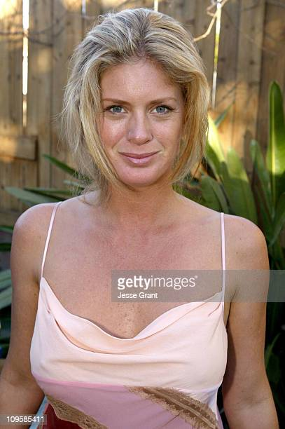 Rachel Hunter during 'FreezerBurn' On Set Photos at Private Residence in Los Angeles California United States