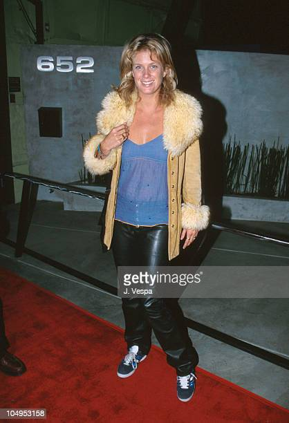 Rachel Hunter during ICEBOXCOM Launch Party at The Factory in West Hollywood California United States