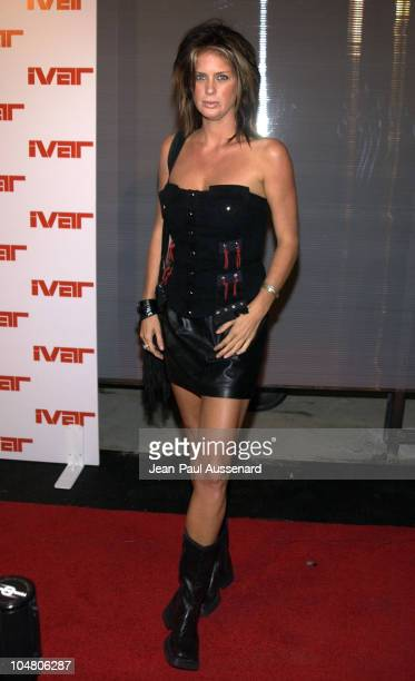 Rachel Hunter during Ivar Nightclub Grand Opening Party at Ivar Nightclub in Hollywood California United States