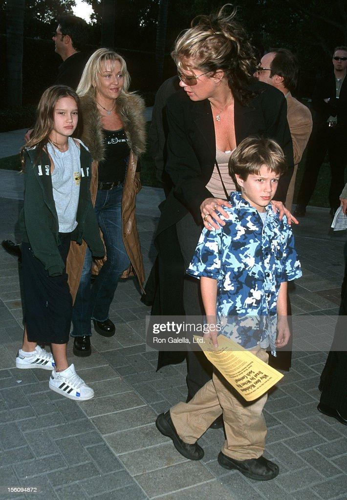Rachel Hunter during 'Jimmy Neutron: Boy Genius' Los Angeles Premiere at Paramount Studios in Los Angeles, California, United States.