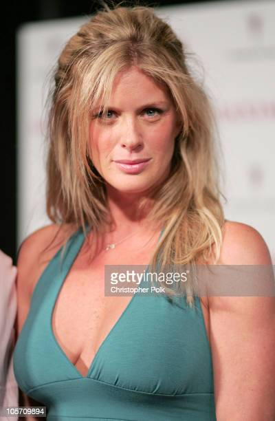 Rachel Hunter during Maxim Magazine's Hot 100 Arrivals at Montmartre Lounge in Hollywood California United States
