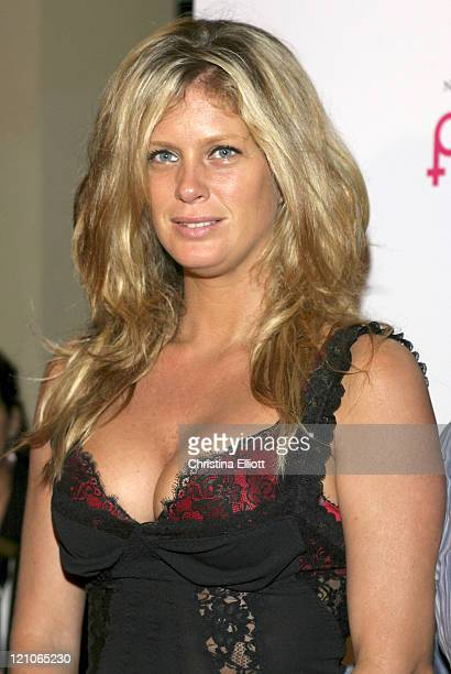 Rachel Hunter during 'Pieces ' Opening Night at Hard Rock Hotel and Casino in Las Vegas Nevada United States