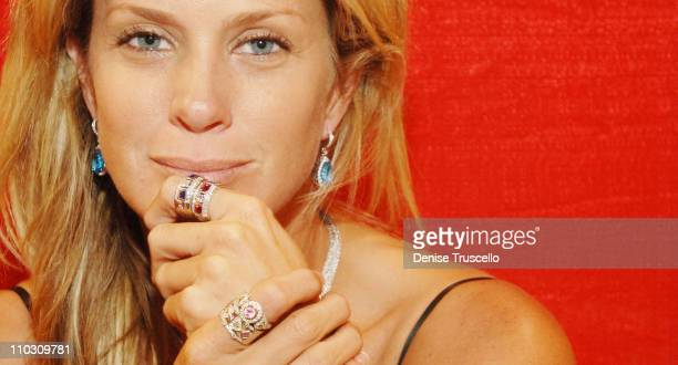 Rachel Hunter during Rachel Hunter at The Zalemark Booth at The JCKThe Swiss Watch Convention at The Las Vegas Convention Center at Las Vegas in Las...