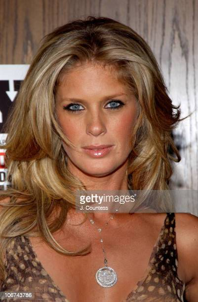 Rachel Hunter during Rachel Hunter Celebrates Her Appearance in the April Issue of Playboy for their Annual 'Sex and Music' Issue at Marquee in New...