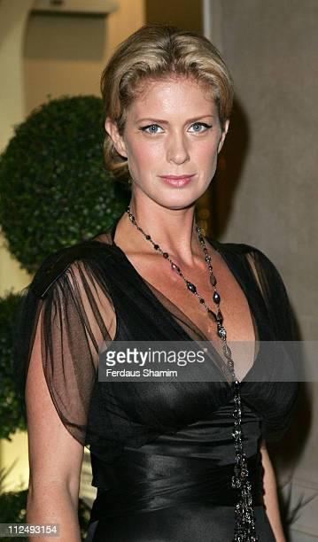 Rachel Hunter during Respoke Bespoke Charity Auction at The Claridges London in London Great Britain