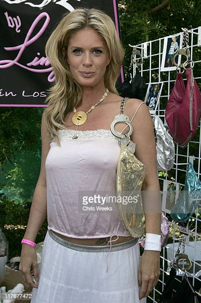 Rachel Hunter during Silver Spoon Hollywood Buffet Day 2 in Los Angeles California United States Photo by Chris Weeks/WireImage for Silver Spoon