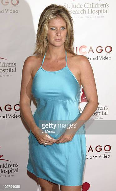 Rachel Hunter during St Jude 'Runway for Life' at Beverly Hilton in Beverly Hills California United States