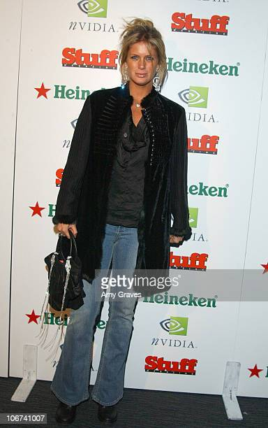 Rachel Hunter during Stuff Magazine Presents The Granny Party at Avalon in Hollywood California United States
