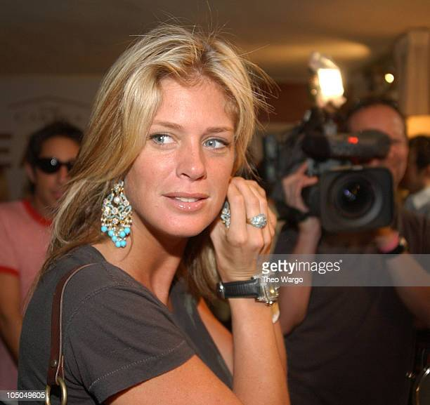 Rachel Hunter during The Cabana Oscars Beauty Buffet with Allure Magazine - Day 2 at Chateau Marmont in West Hollywood, California, United States.