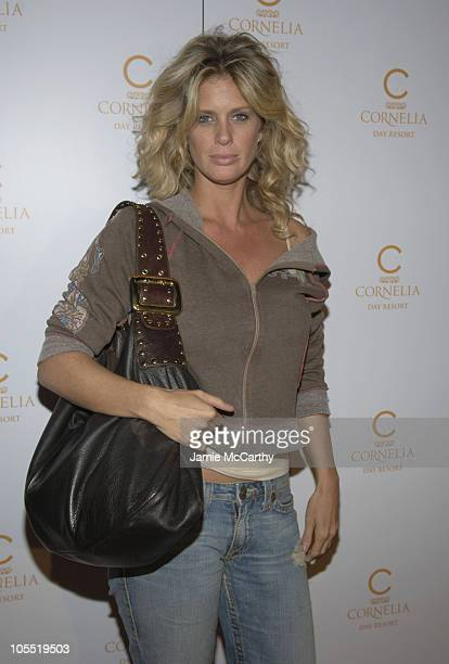 Rachel Hunter during The Launch of Cornelia Day Resort on Fifth Avenue in New York City at Cornelia Day Resort in New York City New York United States