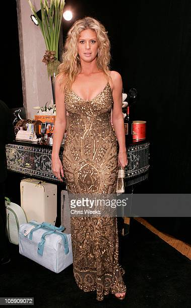 Rachel Hunter during The Silver Spoon Gift Lounge at The 32nd Annual People's Choice Awards at The Shrine Auditorium in Los Angeles CA United States