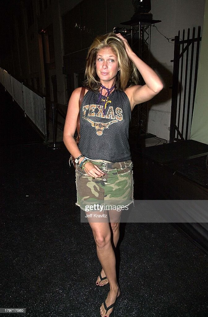 Rachel Hunter during Vespa Scooter Party in Hollywood, California.