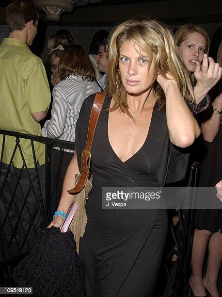 Rachel Hunter during Vogue Takes Beverly Hills Hublot Party at The Lounge in West Hollywood California United States