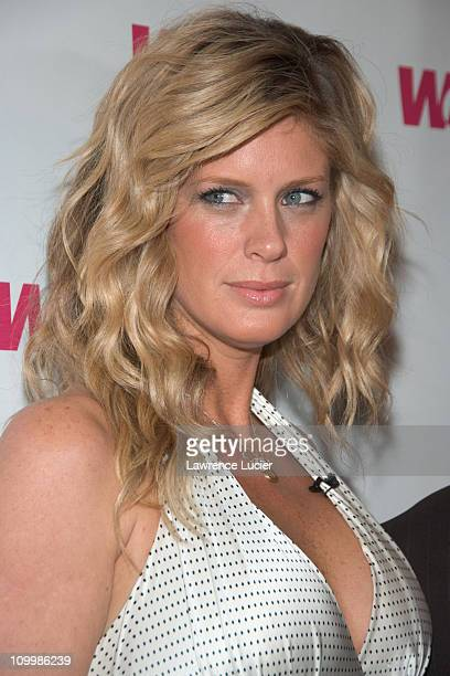 Rachel Hunter during WE Network Launches Style Me Reality Series Featuring Rachel Hunter at Nikkis Midtown in New York City New York United States