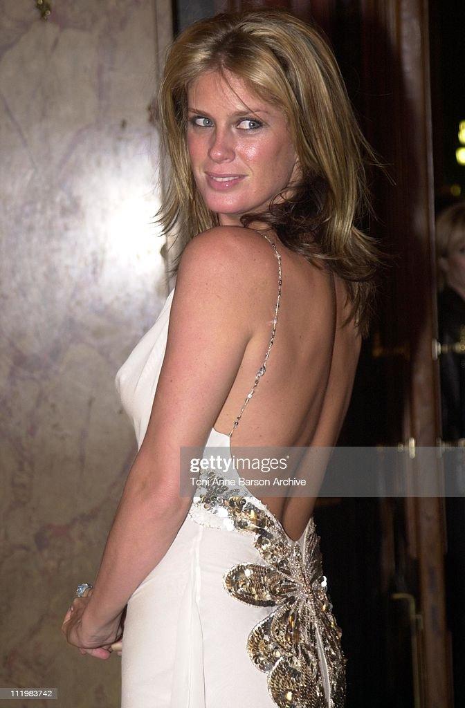 Rachel Hunter during World Music Awards 2002 - Pre-Awards Cocktail at Monte-Carlo Casino in Monte-Carlo, Monaco.