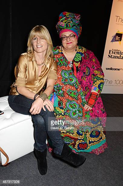 Rachel Johnson and Camila Batmanghelidjh attend the London Evening Standard's '1000 London's Most Influential People' at The Francis Crick Institute...